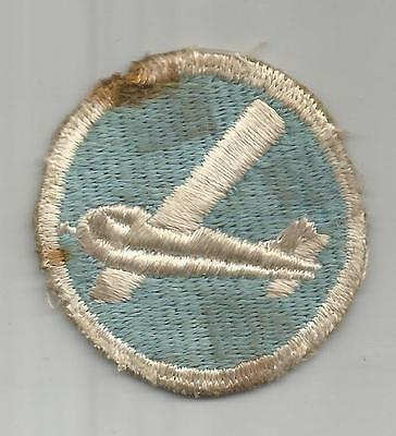 WW 2 101st Airborne Division Overseas Glider Infantry Cap Patch Inv# A532