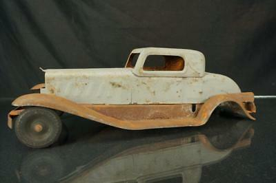 1930's Girard  Deluxe Coupe Pressed Steel Toy Car For Parts As Is Pierce Arrow?