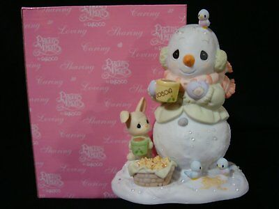Precious Moments-Warmest Wishes 4 The Holidays-Snowman