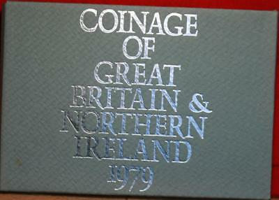 Uncirculated 1979 Coinage Of Great Britain & Northern Ireland Proof Set Free S/H