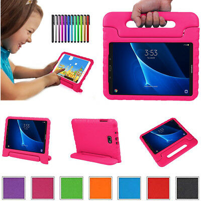 For Samsung Galaxy Tab A E Safe Kids Handle EVA Foam Stand Case Cover Shockproof