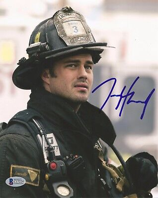Taylor Kinney Autographed Signed Chicago Fire Kelly Severide Bas Coa 8X10 Photo