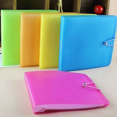 1pc CD DVD Carry Wallet Pamphlet Protect Case Storage Bag Random Durable Gift