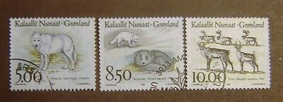 Greenland #262-264 Used F-VF Complete
