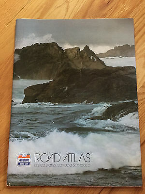 Allstate Motor Club Road Atlas United States Canada Mexico 1979