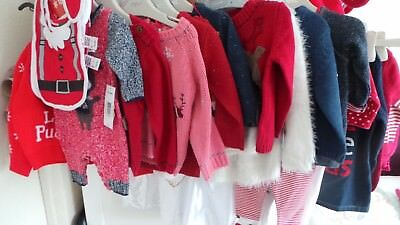 Boys/Girls Christmas Jumpers/All In Ones Next, F&F, TU 3-6, 6-9, 9-12, 12-18