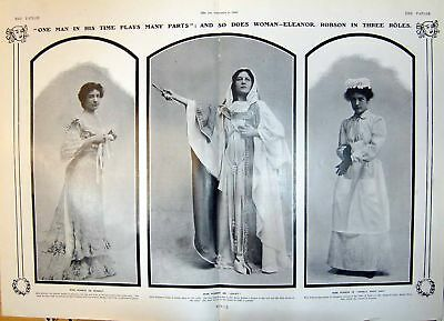 Eleanor Robson As Herself Juliet Merely Mary Ann Duke Yorks 1904 212Q014