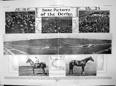 Derby St Amant Diamond Jubilee Cicero D Maher Lord Rosebery 1906 609Q020