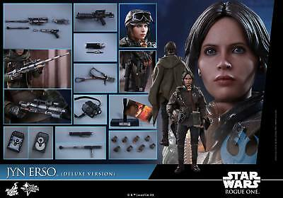 Hot Toys 1/6 Rogue One A Star Wars Story Mms405 Jyn Erso Deluxe Version Figure