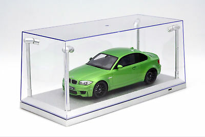 Single Cabinet Silver with 4 LED LAMPS FOR MODEL CARS ON A Scale of 1:18 Triple9