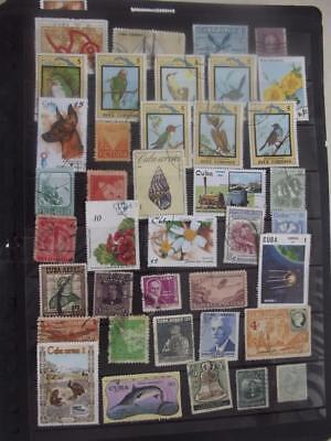 SELECTION OF STAMPS  pack A83