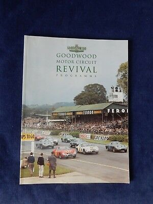 Goodwood Revival Programme & Racecard Booklet, 1999