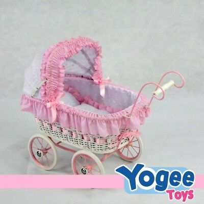 Regal Doll Carriages Alexandra Doll Play Pram
