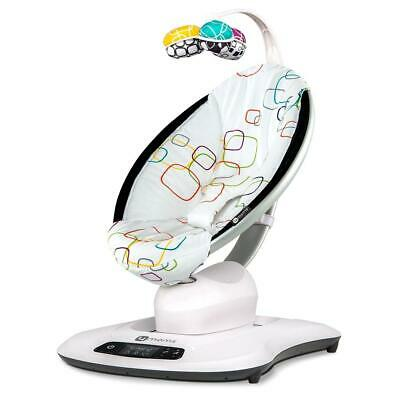 4moms MamaRoo 4.0 (Multi Plush) - Innovative Bouncing Chair