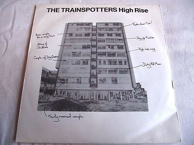 The Trainspotters ~ High Rise ** 1979 Arista 45