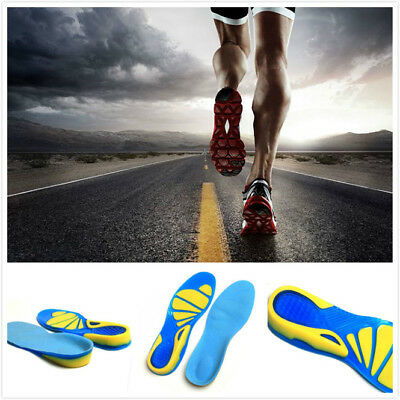 Orthotic Insoles for Arch Support Plantar Fasciitis Flat Feet Back & Heel Pain