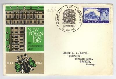 Gb 1962 105 Castle Fdc On Cover
