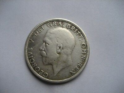 1929 Silver George V Florin Dated 1929