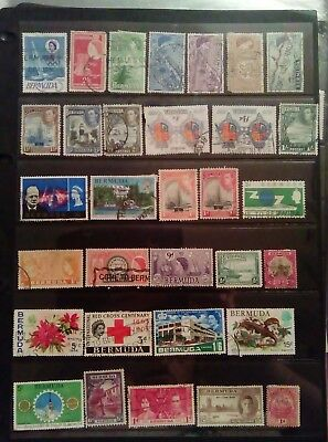 Stamps Used Mm Bermuda