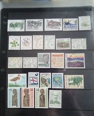 Stamps Used Mm Faroe Islands