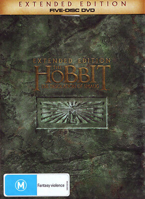 The Hobbit: The Desolation Of Smaug (Extended Edition) (2013) [New Dvd]