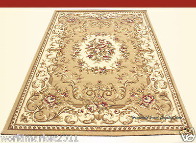 A15 European Style Pure Wool Length 170CM Manual Weaving Carved Flowers Carpet