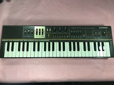 Vintage Casio Casiotone MT-68 Electronic Keyboard Synthesizer - No Adapter