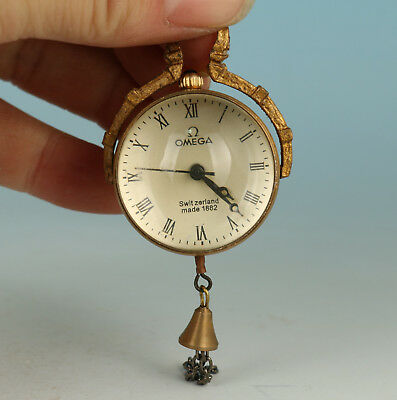 Europe Copper Glass  Mechanical pocket watch