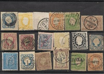 Portugal nice  range of mostly used classics (#8718a)
