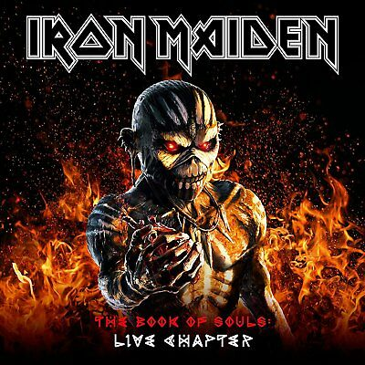 Iron Maiden - The Book Of Souls, Live Chapter (NEW 2 x CD)