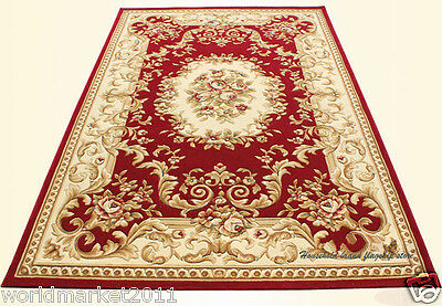 A16 European Style Pure Wool Length 170CM Manual Weaving Carved Flowers Carpet
