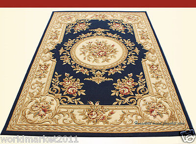 A20 European Style Pure Wool Length 170CM Manual Weaving Carved Flowers Carpet