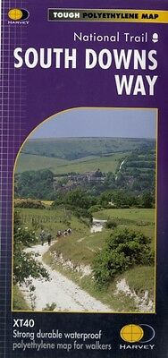 South Downs Way XT40 (Route Maps): National Trail (Map), Harvey M. 9781851374779