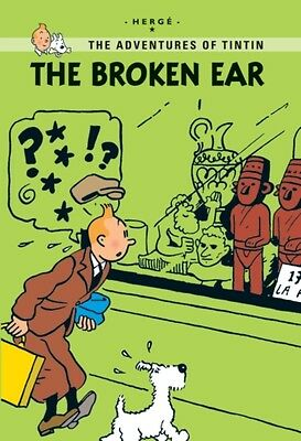 The Broken Ear (Tintin Young Readers Series) (Paperback), Herge, 9781405266994