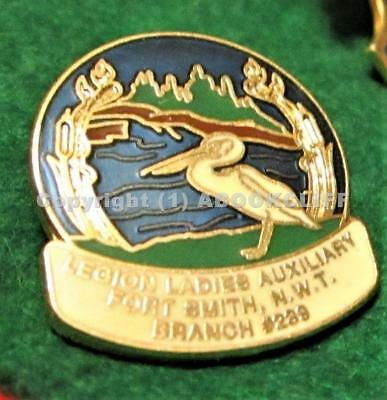 Rcl Branch # 239 Fort Smith Nwt Royal Canadian Legion Pin -1