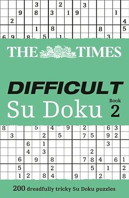 The Times Difficult Su Doku Book 2: Bk. 2 (Paperback), The Times . 9780007307388