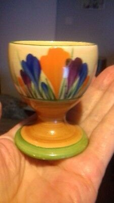Clarice Cliff Autumn Crocus Footed Egg Cup-Collectable-Rare