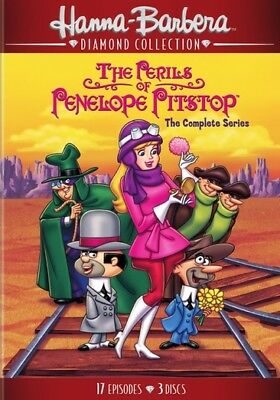 Hanna Barbera Dh645516D Perils Of Penelope Pitstop-Complete Series (Dvd/60Th ...