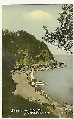 Old Postcard (1959) - Beach and Cliffs, Maidencombe (Friths)- Posted - C0024