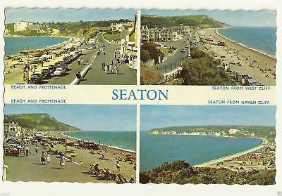 Old Postcard (1964) - Seaton (Various Views) - Posted - C0021