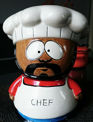 seltene South Park Keksdose Chefkoch / rare Southpark Cookie Jar Chef / wie neu