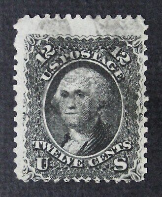 CKStamps: US Stamps Collection Scott#90 12c Washington Used Signed CV$400