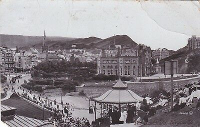Vintage Postcard The Bandstand Ilfracombe 1913