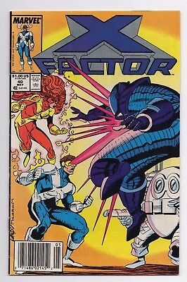 Marvel Comics X Factor #40 Copper Age
