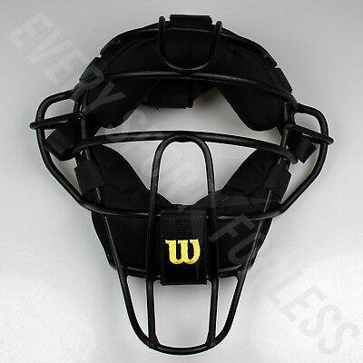 Wilson Dyna-Lite Aluminum Baseball Umpire's Mask - Black (NEW) Lists @ $140
