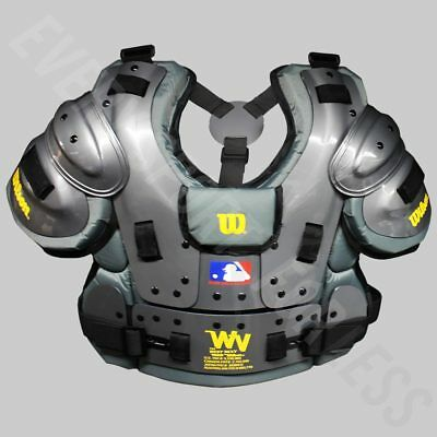 Wilson Pro Platinum Baseball Umpires Chest Protector - Charcoal (NEW) Lists@$200