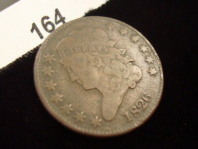 1826 Classic Head Half-Cent! Buy-It-Now ~ Free Shipping! #164