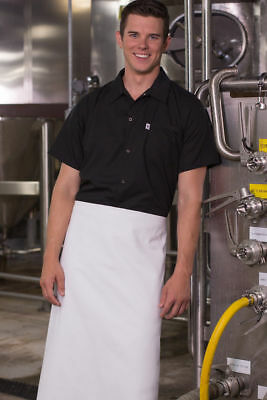 Uncommon Threads Snap Chef Utility Shirt 0950, Black  Sizes XS to 2XL
