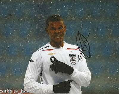 England Fraizer Campbell Autographed Signed 8x10 Photo COA