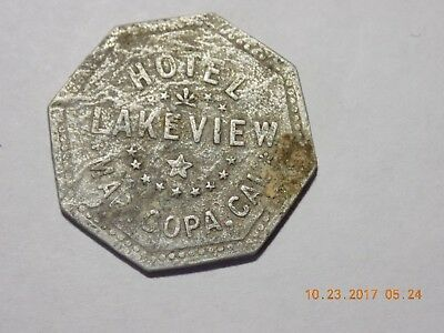 Good For Token - HOTEL / LAKEVIEW / MARICOPA, CAL. - K-4